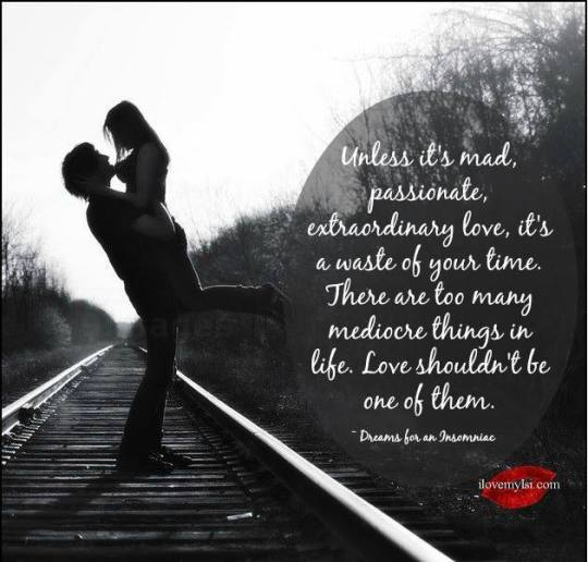 Live and love with passion!