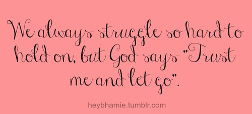 Let Go And Let God Jessie Jeanine