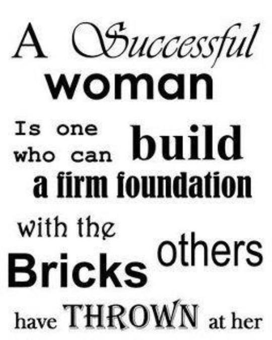 A Successful Woman
