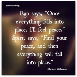 Our ego and our Spirit