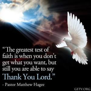 The Great Test of Faith