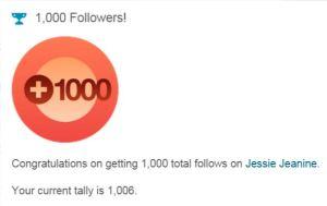 Wordpress 1,000 Follows