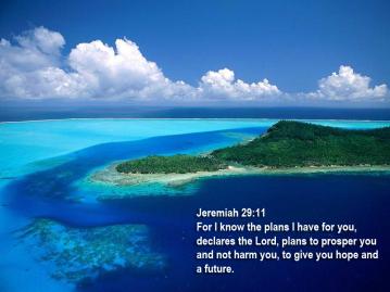 Ocean Jeremiah 29:11