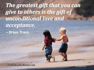 The greatest gift you can give others...