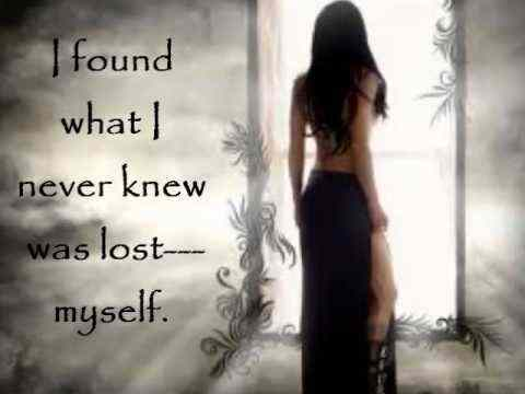 Finding myself...