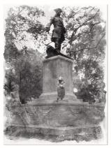 Savannah Georgia Statue