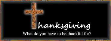 thanksgiving - what do you have to be grateful for