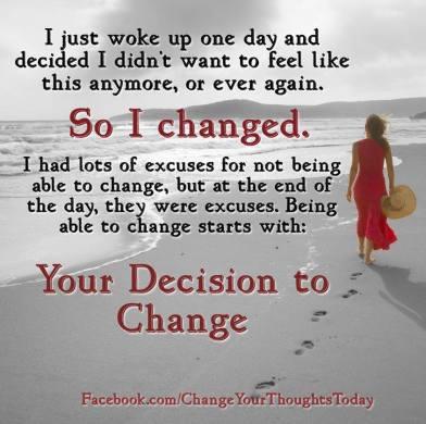 One day I woke up...
