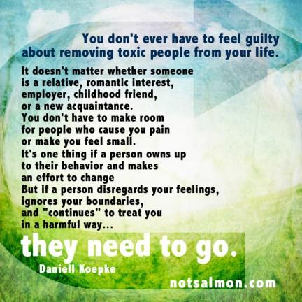 Remove Toxic People