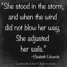 Adjusting Her Sails