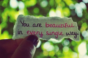 You are so beautiful!