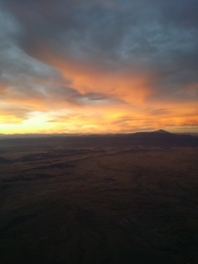Flying somewhere over Colorado