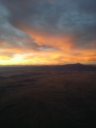 Flying somewhere over Colorado