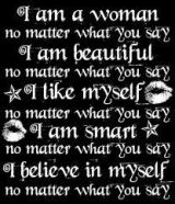 I am... No matter what you say.