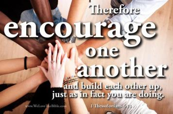 Therefore-Encourage-One-Another