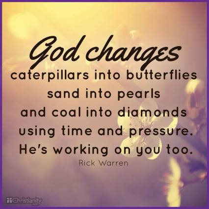 God Changes Us...